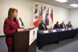 La cónsul general de México, Remedios Gómez Arnau/P.J.