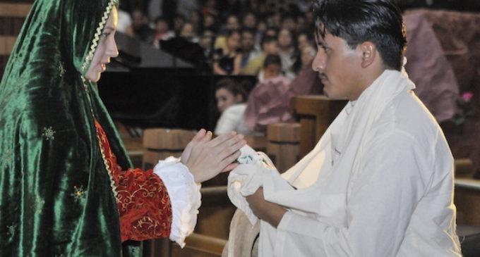 Invitan a festejos para la Virgen de Guadalupe