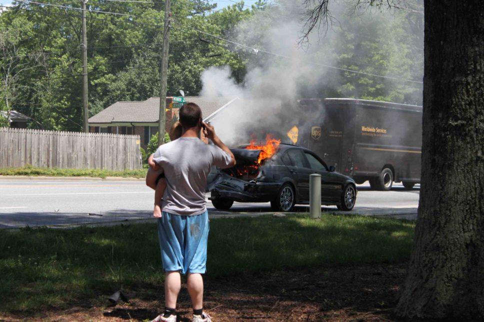 Accidente vehicular