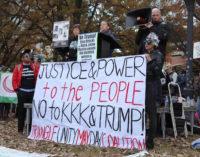 Con un llamado a la unidad reaccionan en Raleigh a marcha del KKK