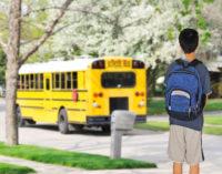 Rastree el autobús escolar con una aplicación de teléfono celular