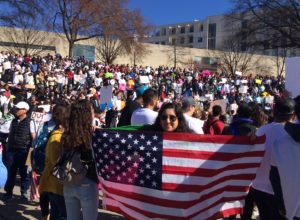 La marcha proinmigrante más grande en Carolina del Norte en la última década