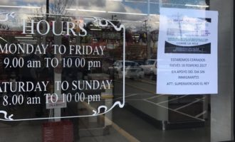 Cientos de negocios se unen al Día Sin Inmigrantes