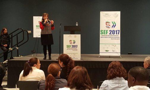 Ofrecen educación financiera a los mexicanos durante visita consular