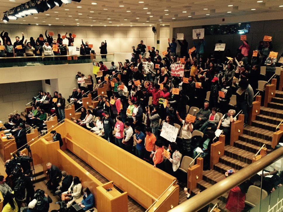 Manifestantes piden sacar al ICE y al programa 287(g) de Charlotte