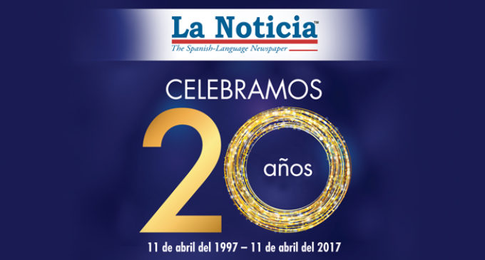 La Noticia celebrates 20 years growing together with you