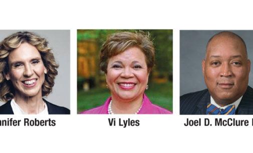 Realizan primer debate de candidatos demócratas a la alcaldía