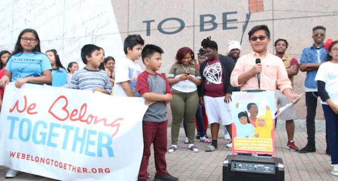 En Raleigh le dieron la bienvenida a la caravana que pidió a Trump un cese a las deportaciones