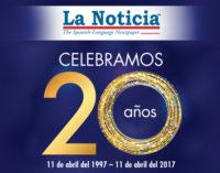 La Noticia es el primer periódico en español en la historia de las Carolinas en llegar a las mil ediciones