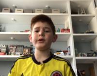 Recolectan artículos deportivos, videojuegos y útiles escolares para ayudar a niños colombianos