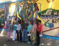 La Liga Hispana reinaugura mural latino en el centro de Winston-Salem