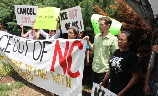 ICE buscaría reactivar el 287(g) y abrir cárcel en Carolina del Norte