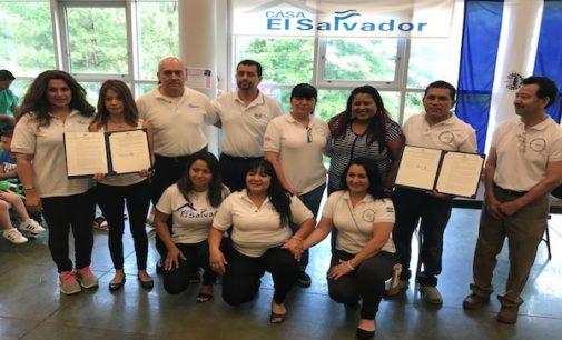 Organizaciones comunitarias de salvadoreños fungirán como Ventanillas Consulares