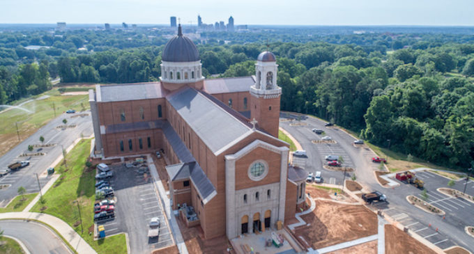 La nueva catedral de Raleigh será inaugurada el 26 de julio