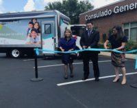 Inauguran Unidad Móvil de Salud en Consulado de México