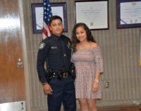 Juramentan ocho nuevos policías en Burlington y uno de ellos es latino