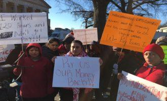Trabajadores de limpieza recuperan $77,000 en salarios