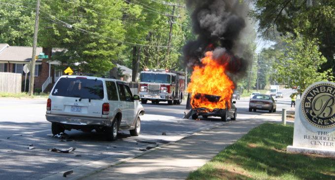 ¿Dónde están las calles con más accidentes de tránsito en Charlotte?