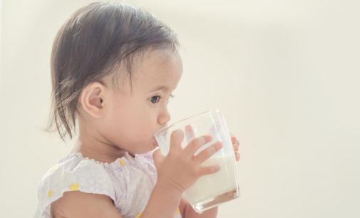 ¿Cuándo es seguro dar leche de vaca al bebé?