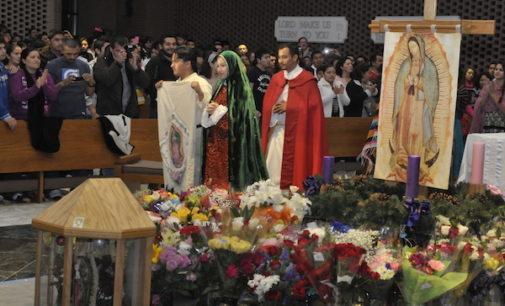 Listos los festejos para celebrar a la Virgen de Guadalupe