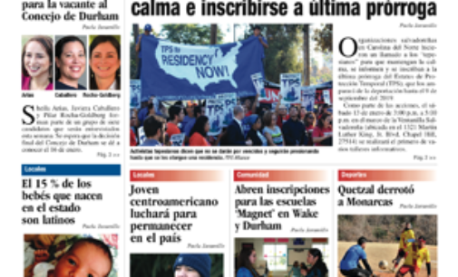 La Noticia Raleigh Edición 299