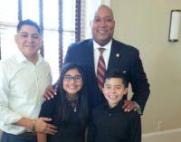 Niños latinos rinden homenaje a Martin Luther King