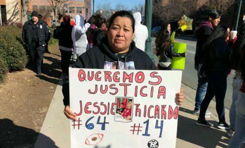 Marchan frente a corte de Concord en busca de justicia