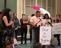 Inmigrante salvadoreño es acogido por iglesia santuario en Greensboro