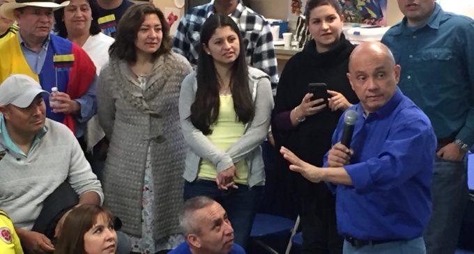 Candidato colombiano propone modernizar servicios consulares por Internet