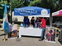 quiosco del Consulado de Guatemala.