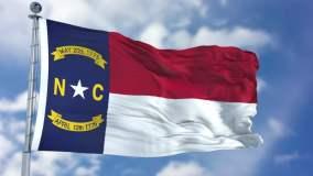 Bandera de Carolina del Norte