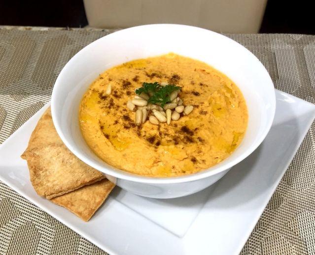Hummus de batata