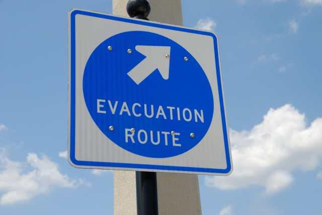 Señal de ruta de evacuación