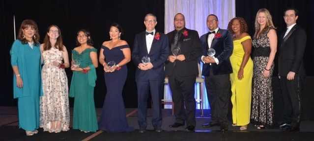 Los ganadores de 2018 Excelente Awards en Charlotte.