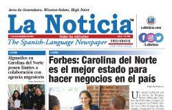 La Noticia Greensboro Edición 308