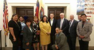 Delegación de Carolina del Norte visita Capitolio para impulsar reforma migratoria