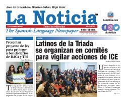 La Noticia Greensboro Edición 321