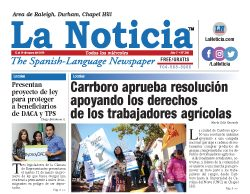 La Noticia Raleigh Edición 360