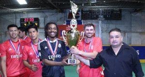Campeones y más campeones en Global Sports Indoor Soccer Arena
