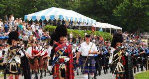 Grandfather Mountain celebra torneo escocés en Carolina del Norte