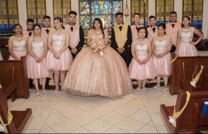 Una hermosa fiesta rosada