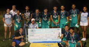CD Pacífico nuevo campeón del fútbol sabatino