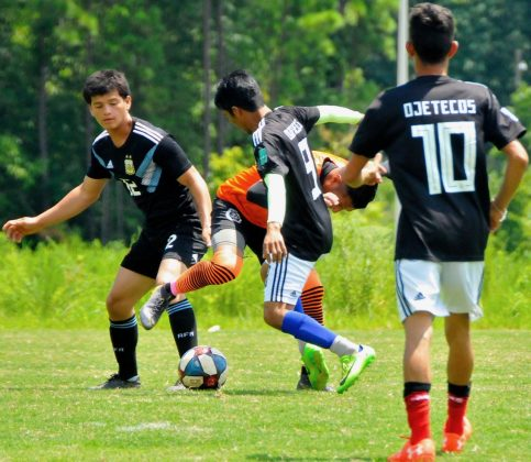 Inter Club Ojetecos Vs LaSelecta