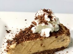 Cheese cake de banana y chocolate