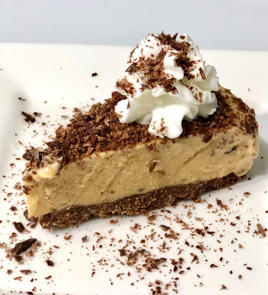 Cheese cake de banana y chocolate
