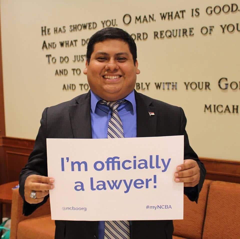 Campbell Law nombra a Josue Jiménez como nuevo asistente del director de admisiones