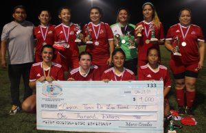 Atlético Celaya es el equipo campeón del fútbol femenino