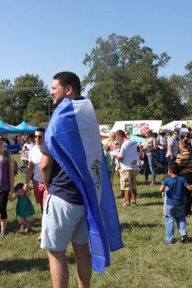 La comunidad disfrutó con mucha alegría el Festival Latinoamericano