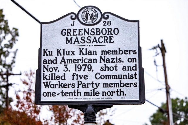 The danger of extremists and racial tensions: 40 years after the Greensboro massacre