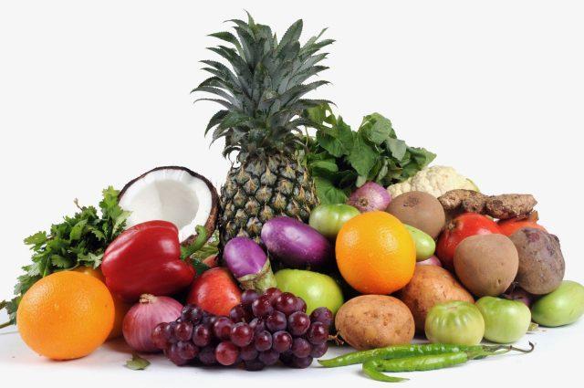 Una guía de colores de las frutas y vegetales para saber sus nutrientes